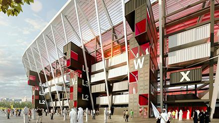 Shipping Containers - Qatar Stadium