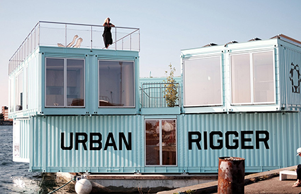 Shipping Containers - student housing Copenhagen