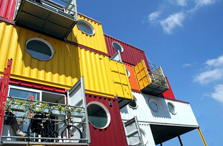 Shipping Containers - studios - Container City
