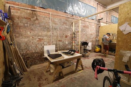 Photo of Banthorpe + Co's Studio - Charlie Banthorpe's studio at Freestone Studios, Meanwhile Creative