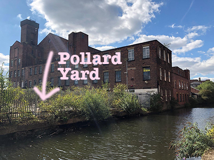 Next to the canal - Pollard Yard | Converted container workspaces in central Manchester